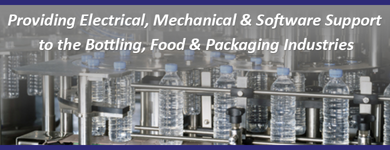 Providing Electrical, Mechanical & Software Support to the Bottling, Food & Packaging Industries